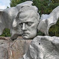 Monument dedicated to the music of Jean Sibelius